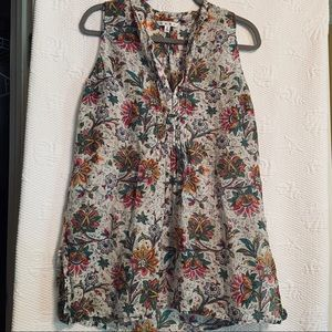 Cabi  floral tunic top